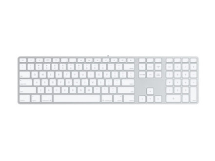 Apple Wired Keyboard with Number Pad