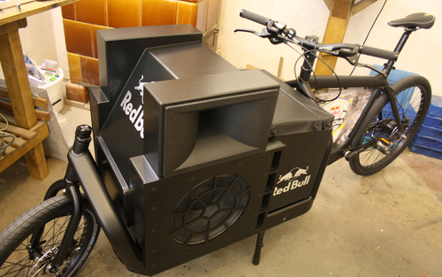 The Red Bull Soundbike / 2012