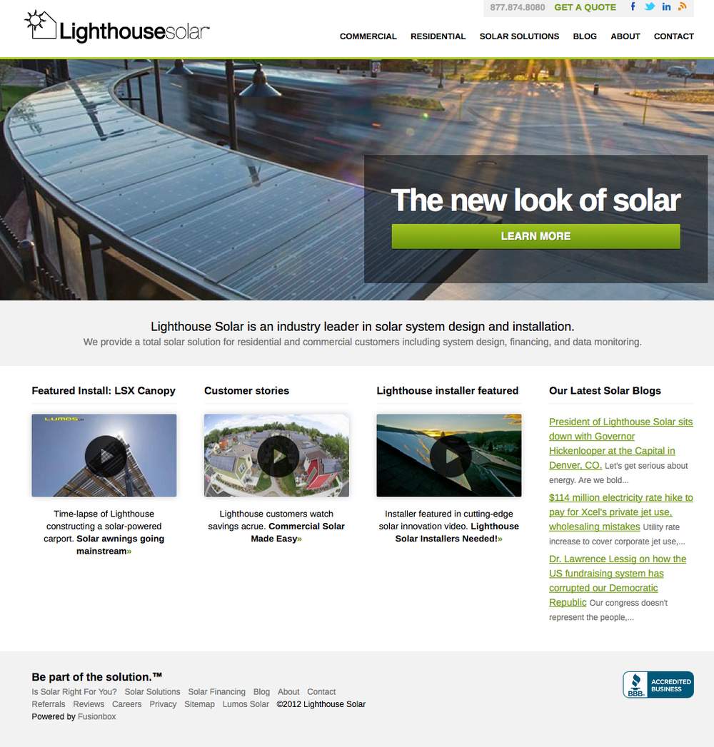 High quality web content for the energy industry.