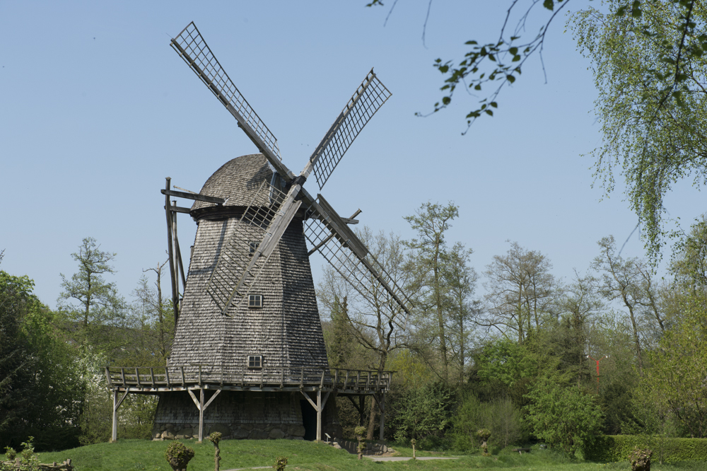 Well preserved old Windmill
