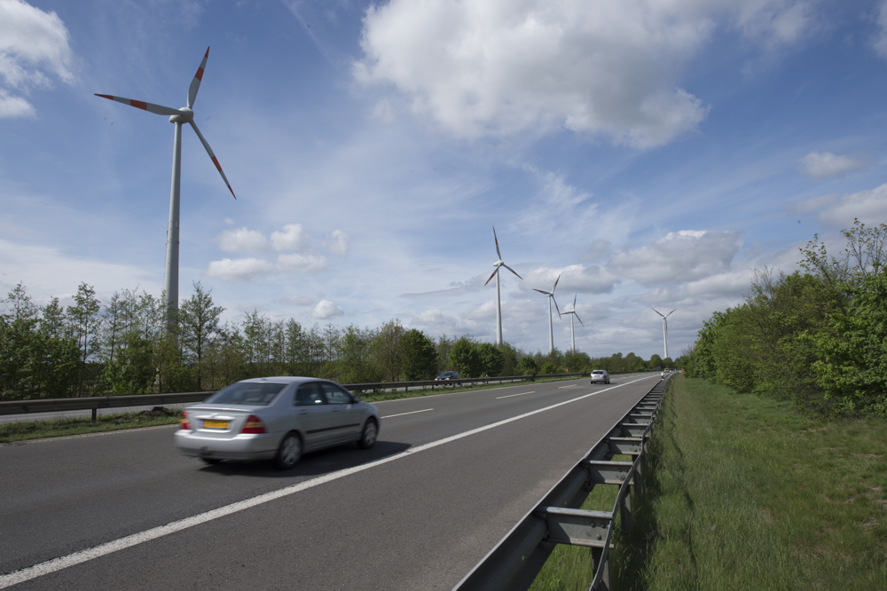 Wind power and cars