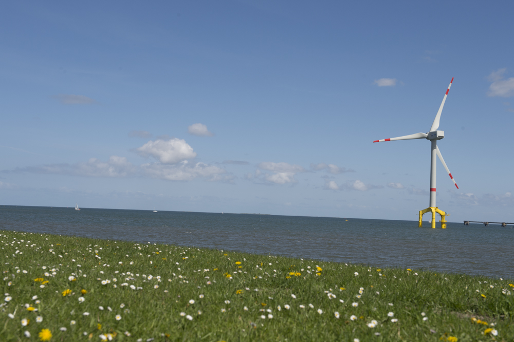 Wind power on the North Sea