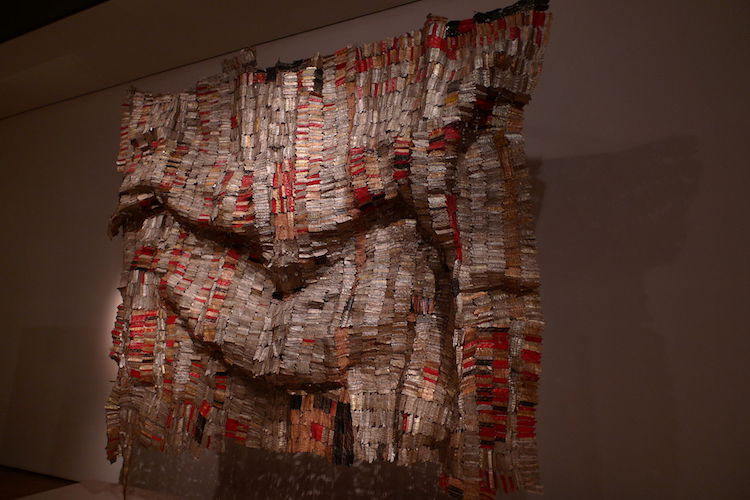 """Man's Cloth"" (1998-2001), by El Anatsui. British Museum, Department of Africa, Oceania and the Americas. Source: https://commons.wikimedia.org"
