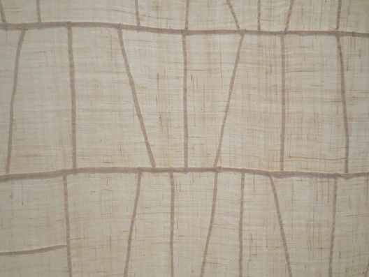 Detail of Korean wrapping cloth (bojagi).