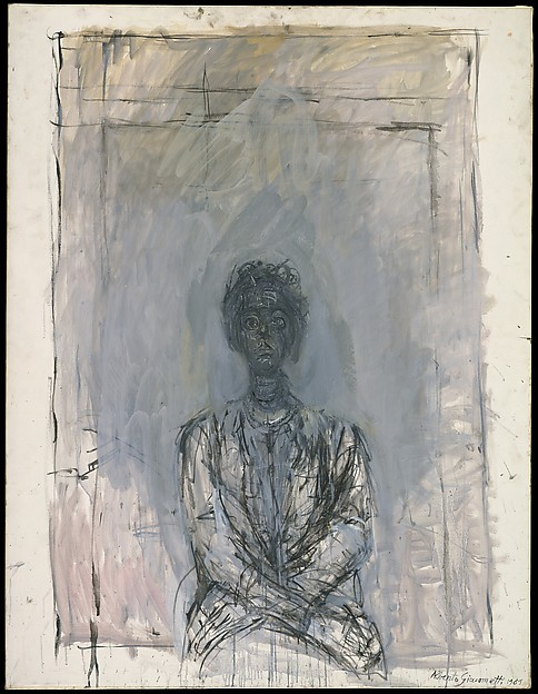 """Annette"" (1961), by Alberto Giacometti. © 2016 Artists Rights Society (ARS), New York. Jacques and Natasha Gelman Collection, The Met Breuer, New York."