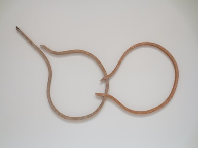 """In Winter Burrows"" (1985), by Martin Puryear. Museum of Modern Art, San Francisco."
