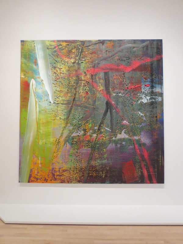 """Geäst"" (Branches), by Gerhard Richter, 1988. Museum of Modern Art, San Francisco."