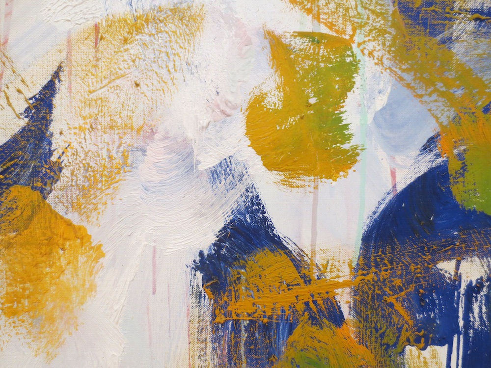"Detail of ""Harm's Way"" (1987) by Joan Mitchell. Museum of Modern Art, San Francisco."