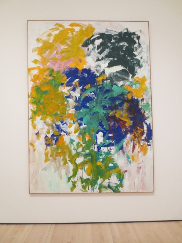 """Harm's Way"" (1987), by Joan Mitchell. Museum of Modern Art, San Francisco."