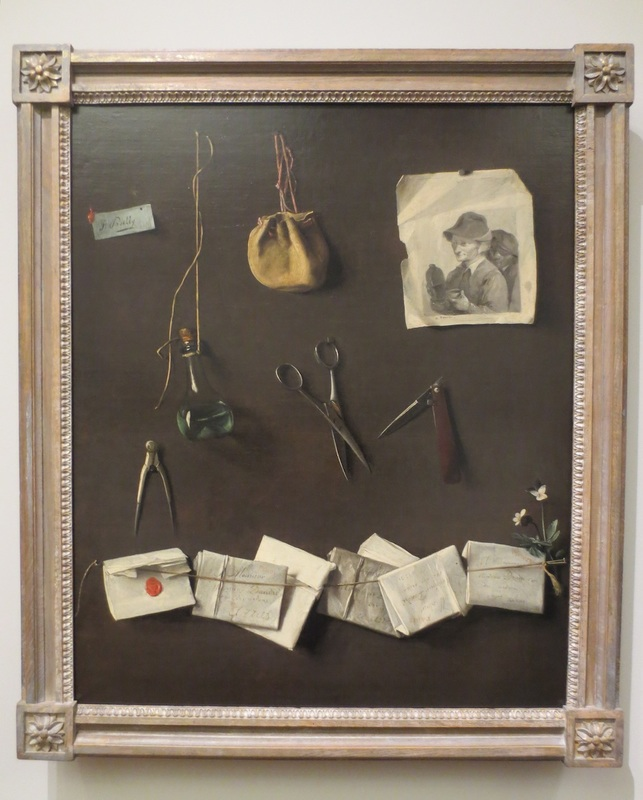 """Various Objects (1785), by Louis Léopold Boilly. The Clark Art Institute, Williamstown, MA."
