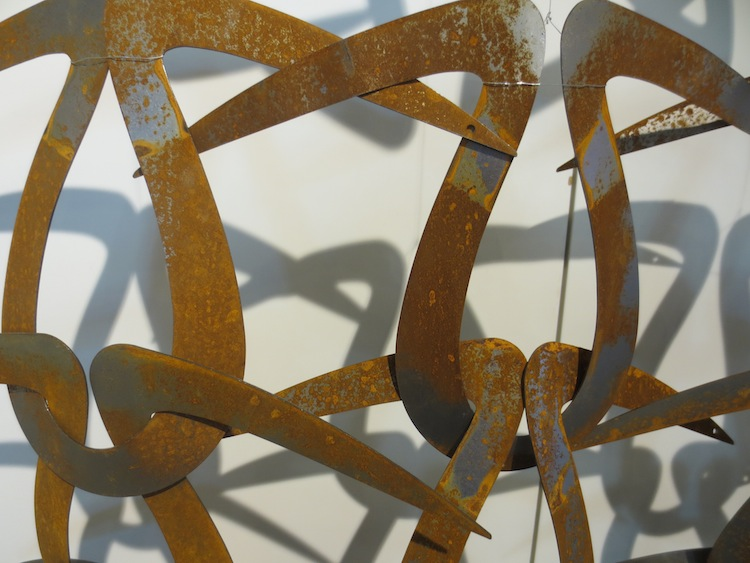 "Detail of ""Modulator"" by Leonora Vekić."