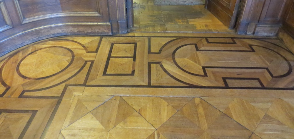 Floor at the Museum of the City of Lodz, Poland, formerly the home of the Poznanski family.