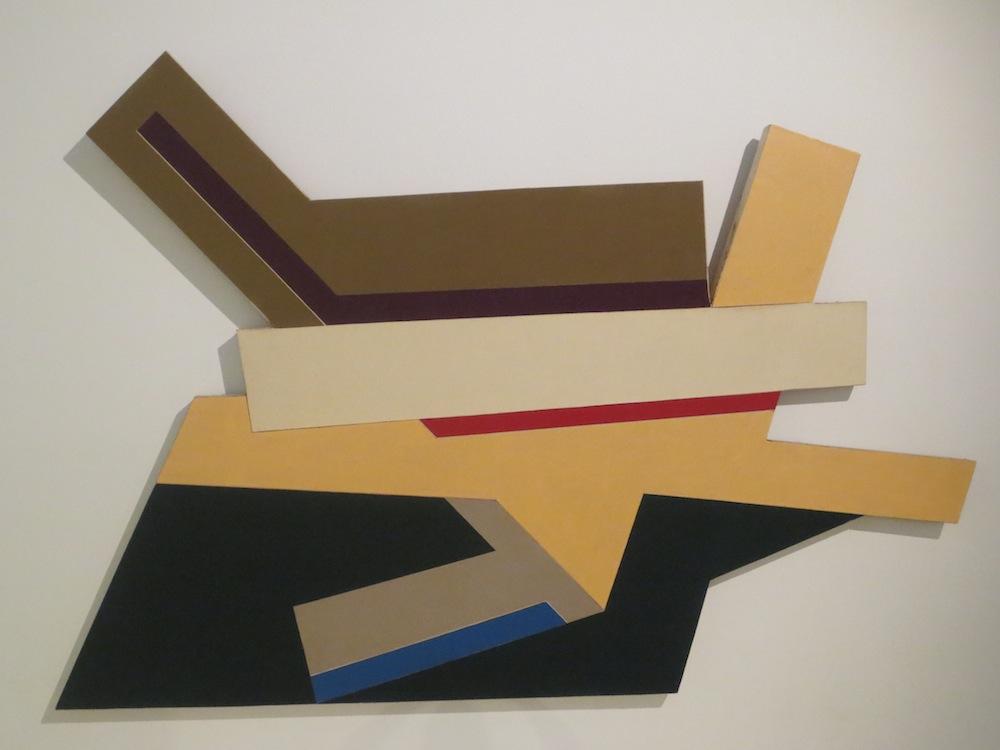 Odelsk I (1971), by Frank Stella. 90x132 in.