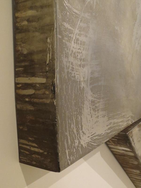 Bogoria V (side view detail) , 1974/1982, by Frank Stella.