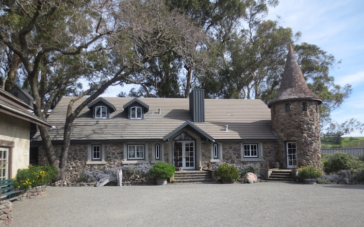 Converted from a winery, the former residence of Rene and Veronica di Rosa is a Napa County Landmark, 130 years old, .