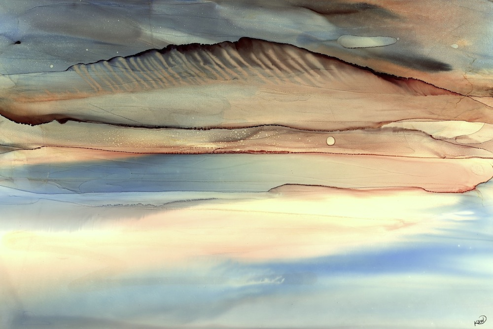 """Desert Pool,"" by Karen Wysopal. Source: http://www.karenwysopal.com"