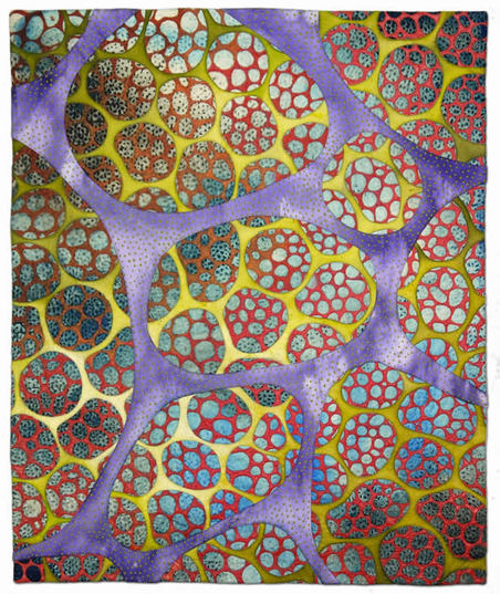 """Intercellular,"" by Betty Busby. Source: http://www.bbusbyarts.com/"