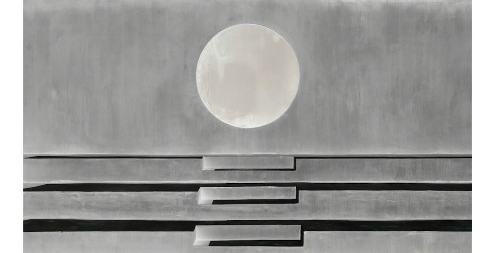 """The Moon"" (2014), by Koyama Toshitaka. Source: https://www.artsy.net/"
