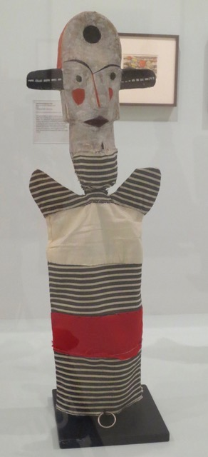 Puppet by Paul Klee. Museum of Modern Art, SF.