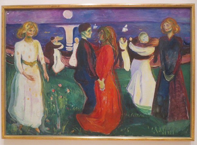 """The Dance of Life"" (1899-1900), by Edvard Munch. National Museum of Art, Architecture and Design, Oslo."