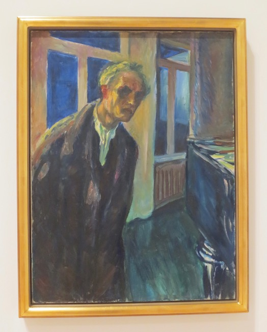 """The Night Wanderer"" (1923-24), by Edvard Munch. Munch Museum, Oslo."