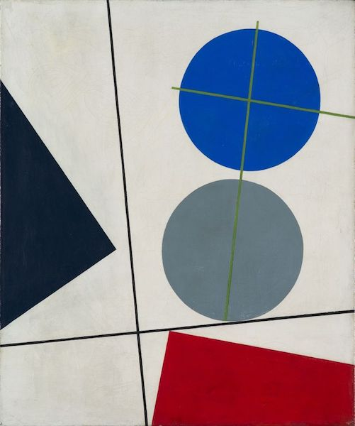 """Composition"" (1931), by Sophie Taeuber-Arp (1889-1943). Source: https://commons.wikimedia.org/"
