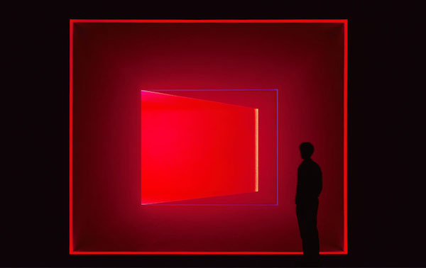 """Wedgework, Cimarron"" (2014), by James Turrell. The Museum San, Oak Valley, Wonju, South Korea.  Source: http://www.museumsan.org"