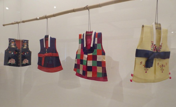 Children's vests, based on garments from Joseon Dynasty (1392-1897), silk.