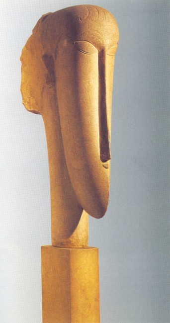 Sculpture by Amedeo Modigliani (1884-1920). Source: https://commons.wikimedia.org