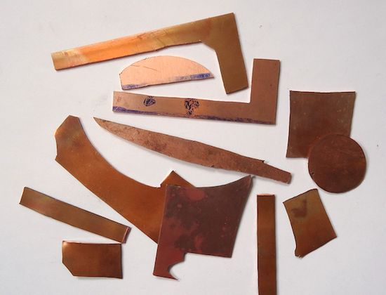 Copper scraps. Photo by Mauro Cateb. Source: https://commons.wikimedia.org/