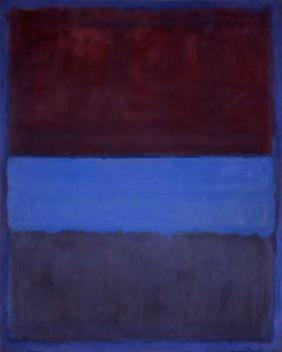 """No. 61, Rust and Blue"" (1953), by Mark Rothko. Source: https://en.wikipedia.org/wiki/No._61_(Rust_and_Blue)"