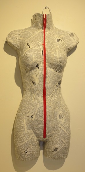 """The Magic Garment,"" by Rayne Madison. Marin MOCA, Novato, CA."