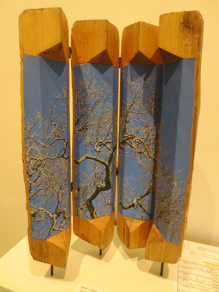 """Tree in Tree,"" by Robert H. Hersey. Marin MOCA, Novato, CA."