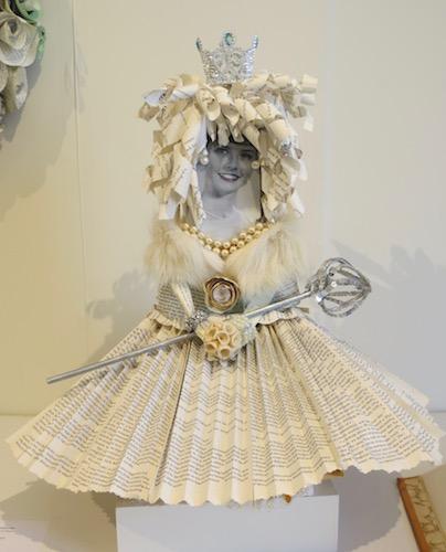 """Novella, Beauty Queen,"" by Patricia Dahl. Marin MOCA, Novato, CA."
