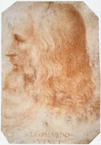 """Portrait of Leonardo da Vinci"" (c. 1510), by Francesco Melzi. Source:  commons.wikimedia.org"