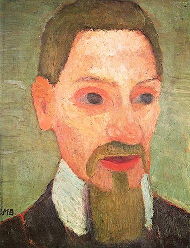 Portrait of Rainer Maria Rilke (1906), by Paula Modersohn-Becker. Source:  commons.wikimedia.org/