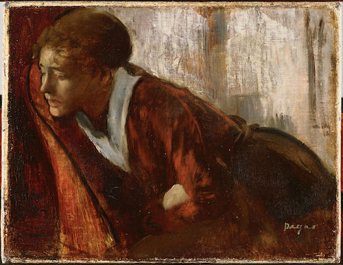 """Melancholy"" (late 1860s), by Edgar Degas. Source: commons.wikimedia.org/"