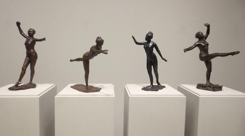 Modeled (ca 1880s), by Edgar Degas. Cast in bronze (1919-21). Clark Art Institute, Williamstown, Massachusetts.