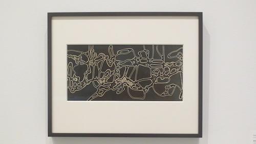 """Amoeba Forms""(1937), gelatin silver print, by Herbert Matter. Stanford University Libraries."