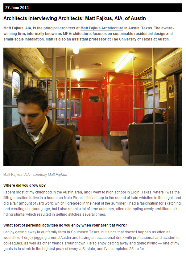 2013_0627 Matt Fajkus MF Architecture TSA Interview Spread1.jpg