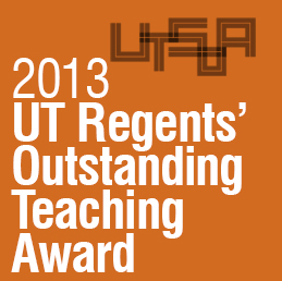 2014_0313 Matt Fajkus MF Architecture 2013 UT Regents' Outstanding Teaching Award.jpg