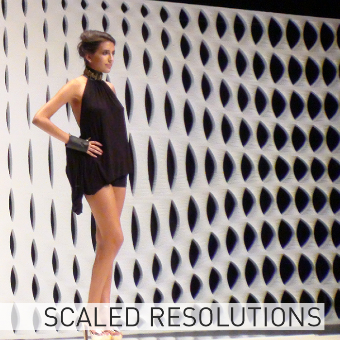 Scaled Resolutions