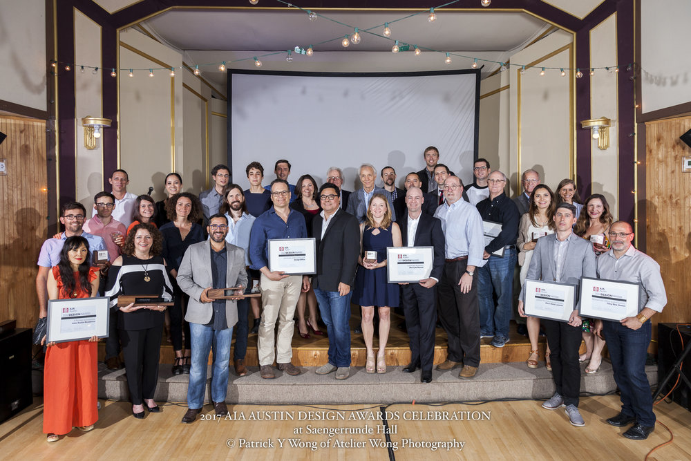 2017 AIA Austin Design Awards Celebration