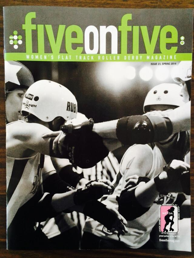 Issue 23 - spring 2014 of  fiveonfive