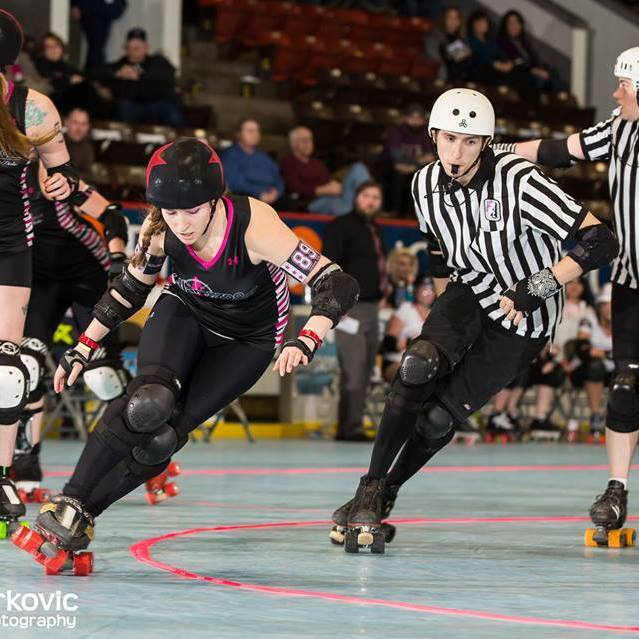 Photo credit: Steve Jurkovic Roller Derby Photography