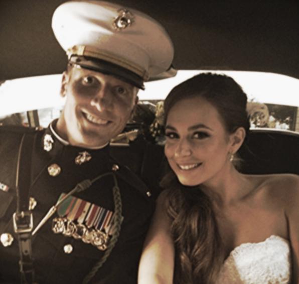 Newlyweds Eric and Helen