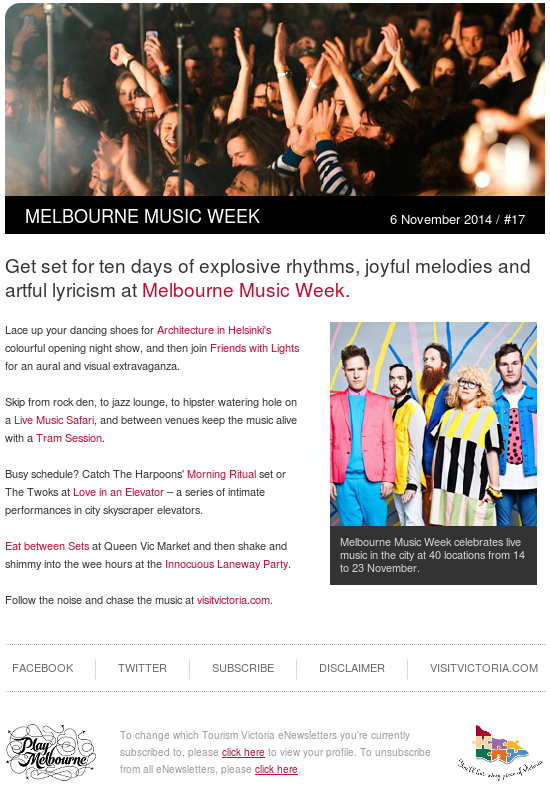 Experience Melbourne EDM – Melbourne Music Week 2014