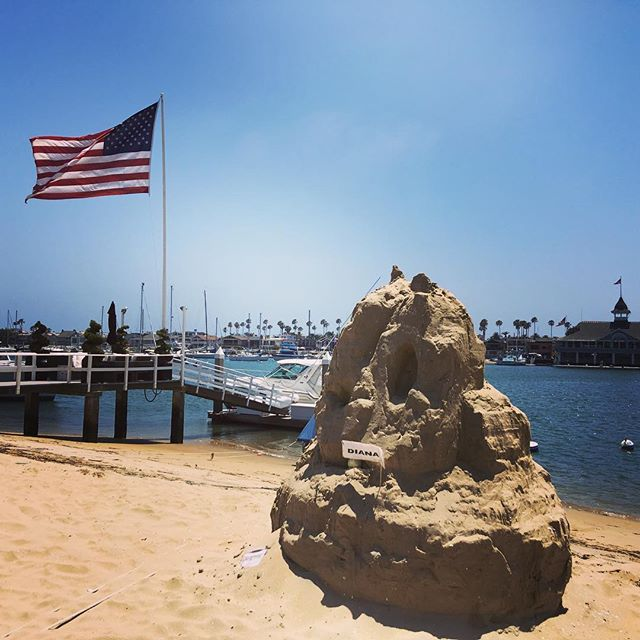 Cool sand mountain! Nothing like Balboa Island. #balboaisland #newportbeach  #summeriscoming #telesproperties #realestate