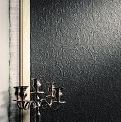 tile porcelain soligo black relief wall laval montreal blainville rosemere
