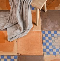 tile porcelain soligo bathroom floor terracotta blue laval montreal blainville rosemere